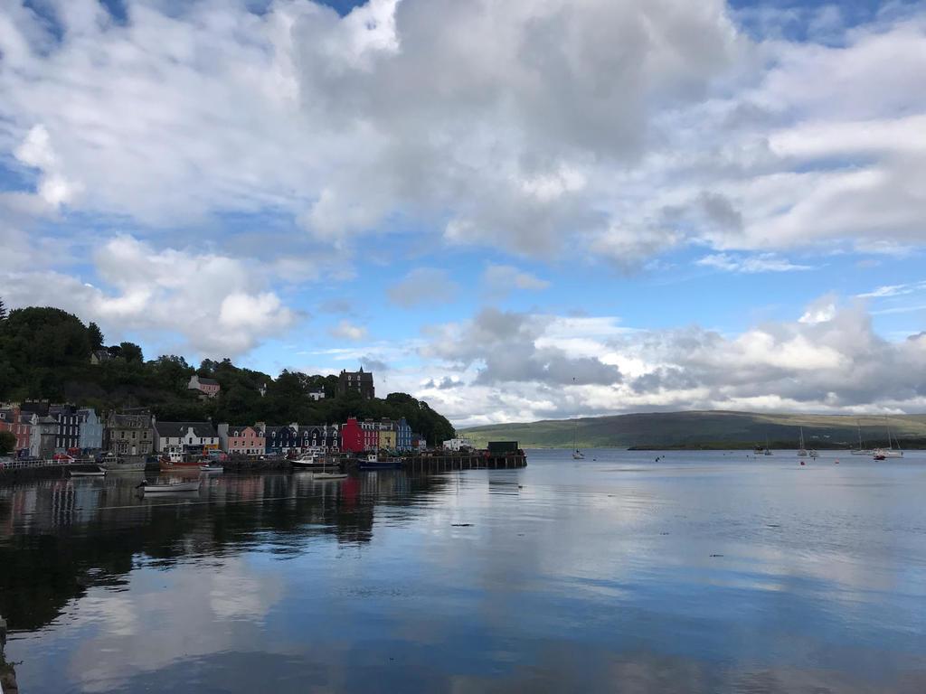 Skotské ostrovy z lodě